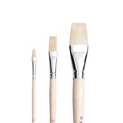 Pebeo - 258F Beyaz Uzun Kıl Yağlı Boya Fırçası