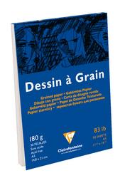 Clairefontane - Dessin A Grain Çizim Bloğu A5 180gr 30 Yaprak Üstten Yapışkanlı