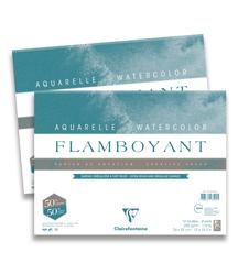 Clairefontaine - Flamboyant Suluboya Bloğu - 24x32cm, 250gr, 10 Yaprak
