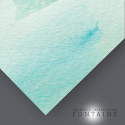 Clairefontaine - Fontaine Kalın Dokulu Suluboya Kağıdı 56x76cm 300gr 10lu Paket