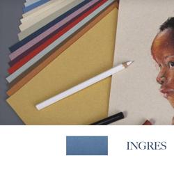 Clairefontane - Ingres Pastel Tabaka 130gr 50x65cm BLUE 25li Paket