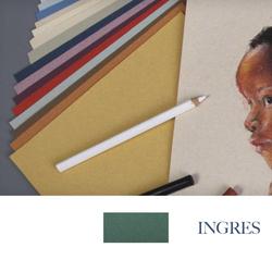 Clairefontane - Ingres Pastel Tabaka 130gr 50x65cm DEEP GREEN 25li Paket