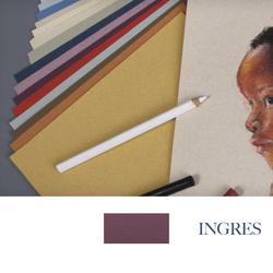 Clairefontaine - Ingres Pastel Tabaka 130gr 50x65cm DEEP PURPLE 25li Paket