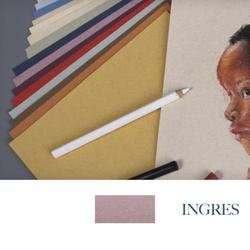 Clairefontaine - Ingres Pastel Tabaka 130gr 50x65cm MAUVE 25li Paket