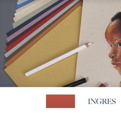Clairefontane - Ingres Pastel Tabaka 130gr 50x65cm RED 25li Paket