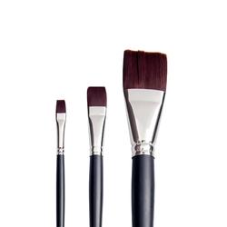 Pebeo - 200F Siyah Sentetik Uzun Saplı Fırça