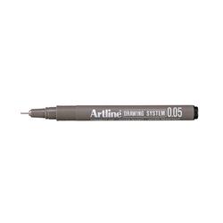 Artline - Teknik Çizim Kalemi - Siyah 0.05