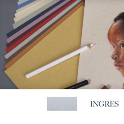 Clairefontaine - Ingres Pastel Tabaka 130gr 50x65cm MARBLED BLUE 25li Paket
