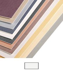 Clairefontaine - Pastel Mat 50x70cm 360gr WHITE 5li Tabaka
