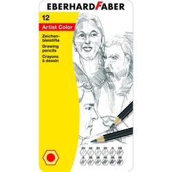 Eberhard Faber - Çizim Kalemi Artist Color Metal Kutu 12li