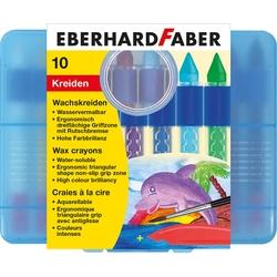Eberhard Faber - Sulandırılabilir Mumlu Pastel Boya 12 Renk