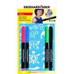 Eberhard Faber - EF Tattoo Marker 4 Blisterli
