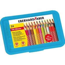 Eberhard Faber - TRI Winner Plastik Kutulu 24 Renk