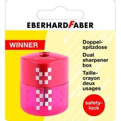 Eberhard Faber - Winner Çiftli Kalemtraş Kırmızı Blisterli