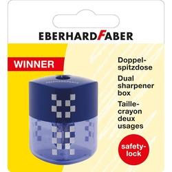 Eberhard Faber - Winner Çiftli Kalemtraş Mavi Blisterli