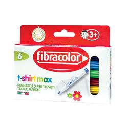 Fibracolor - T-Shirt Marker 6 Renk