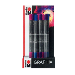 Marabu - Aqua Pen Graphix Set 24 adet