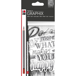 Marabu - Pencil Graphix Dereceli Kalem 5H-6B 12'li