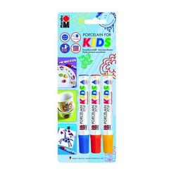 Marabu - Porcelain Painter Set Kids 3 Renk