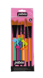 Pebeo - 5li Fırça Seti - Set 19