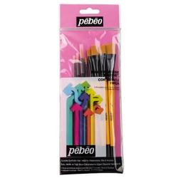 Pebeo - 8'li Fırça Seti - SET 6