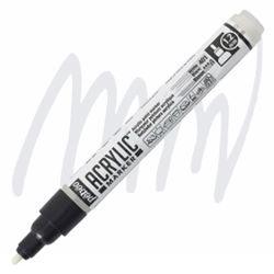 Pebeo - Deco Akrilik Marker - 1,2mm White