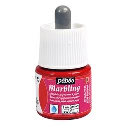 Pebeo - Marbling Ebru Boya 45ml Şişe - 13003 Bengal Pink