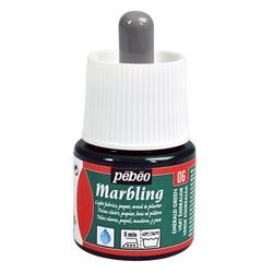Pebeo - Marbling Ebru Boya 45ml Şişe - 13006 Emerald Green