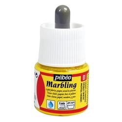 Pebeo - Marbling Ebru Boya 45ml Şişe - 13001 Lemon Yellow