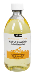Pebeo - Refined Linseed Oil - Bezir Yağı - 495ml Şişe