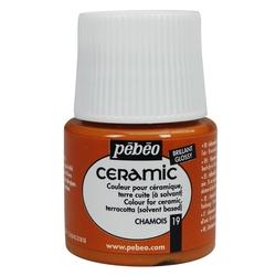 Pebeo - Solvent Bazlı Seramik Boya 45ml Şişe - 19 Chamois