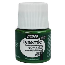 Pebeo - Solvent Bazlı Seramik Boya 45ml Şişe - 37 Green