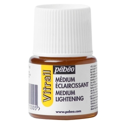 Pebeo - Vitrail Solvent Bazlı Cam Boya Renk Açıcı 45ml Şişe