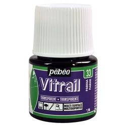 Pebeo - Vitrail Solvent Bazlı Cam Boya 45ml Şişe - 05033 Parma