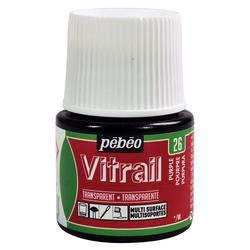 Pebeo - Vitrail Solvent Bazlı Cam Boya 45ml Şişe - 05026 Purple