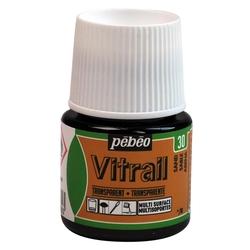 Pebeo - Vitrail Solvent Bazlı Cam Boya 45ml Şişe - 05030 Sand