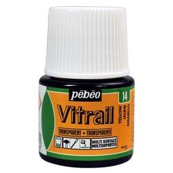 Pebeo - Vitrail Solvent Bazlı Cam Boya 45ml Şişe - 05014 Yellow