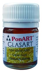 Ponart - Glass Art 20ml Altın