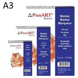 Ponart - Marker Pad 190gr A3