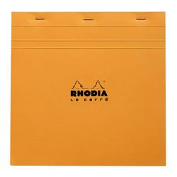 Rhodia - 21x21cm Kareli Blok Turuncu Kapak 80 Yaprak