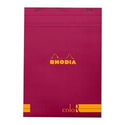 Rhodia - A4 Çizgili Blok Rasperry Kapak 90gr 70 Yaprak