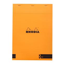 Rhodia - A4 Çizgili Blok Turuncu Kapak 90gr 70 Yaprak