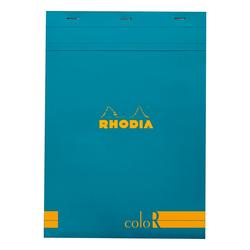 Rhodia - A4 Çizgili Blok Mavi Kapak 90gr 70 Yaprak