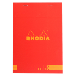 Rhodia - Basic A5 Çizgili Blok POPPY Kapak 90gr 70 Yaprak