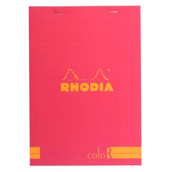 Rhodia - Basic A5 Çizgili Blok RASPERRY Kapak 90gr 70 Yaprak