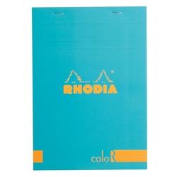 Rhodia - Basic A5 Çizgili Blok TURQBLUE Kapak 90gr 70 Yaprak