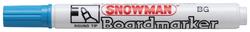 Snowman - Beyaz Tahta Kalem Alkol Bazlı - Açık Mavi