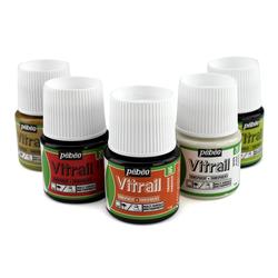 Pebeo - Vitrail Solvent Bazlı Cam Boya 45ml Şişe