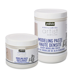 Pebeo - Modeling Paste Heavy Modeling Paste - Rölyef Macunu