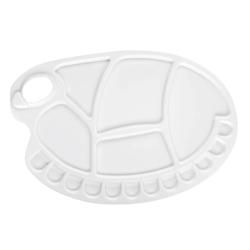 Monart - Plastik Büyük Boy Oval Palet
